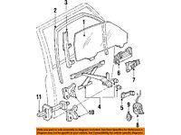 Genuine Honda 72211-SH4-J02 Power Window Regulator