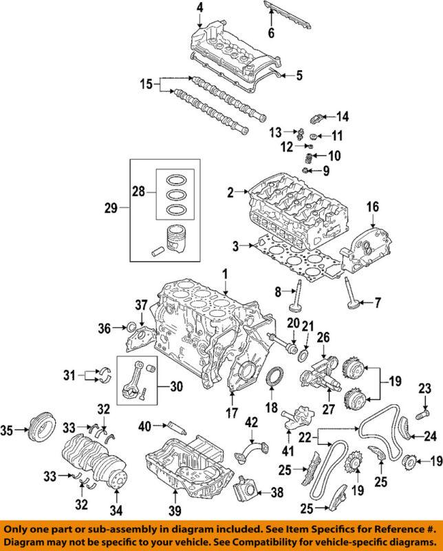 Audi Oem 08-09 A3 Quattro-engine Cylinder Head 022103351f