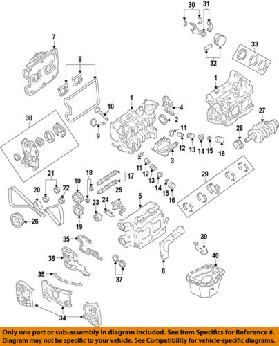 [DIAGRAM_1CA]  SUBARU OEM 08-14 Impreza-Engine Cylinder Head 11063AB480 | eBay | Wrx Engine Diagram |  | eBay