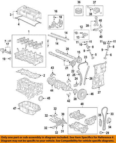 2007 acura tsx engine diagram acura honda oem 04 08 tsx engine crankshaft crank 13310rbb010 ebay  acura honda oem 04 08 tsx engine