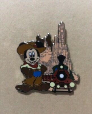 Disney Pin WDW Magic Kingdom Attractions Mickey at Thunder (Magic Kingdome)