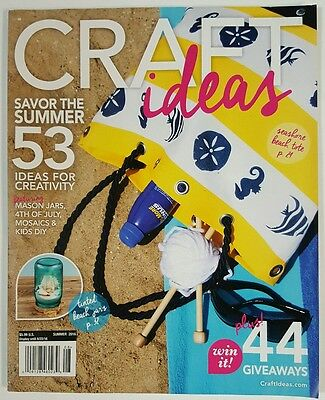 Craft Ideas Ideas for Creativity Beach Jars Kid DIY Summer 2016 FREE SHIPPING JB](Summer Craft Ideas For Kids)