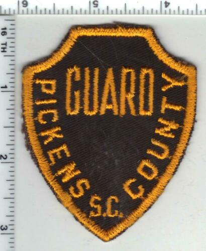 Pickens County Guard (South Carolina) 1st Issue Shoulder Patch - RARE