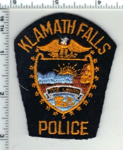 Klamath Falls Police (Oregon) FELT Cap/Hat Patch - Very RARE