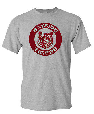 BAYSIDE TIGERS T-shirt - S to 5XL - Saved By The Bell