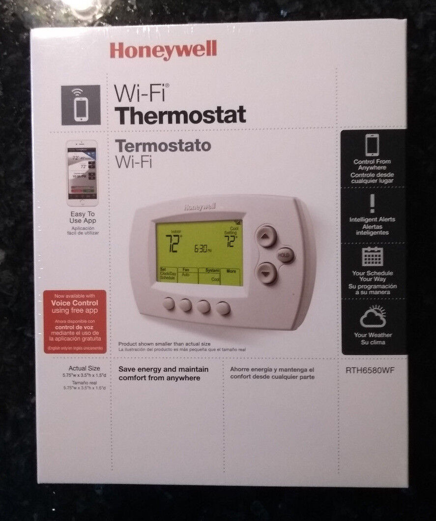 Honeywell Rth6580wf Smart Thermostat, No Hub Required