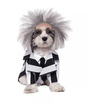 Beetlejuice Dog Costume (Beetlejuice Dog Costume Funny Pet Outfit Halloween)