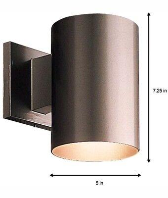 Outdoor Wall Lantern Heavy Duty Aluminum Cylinder Light Metal Shade Lighting