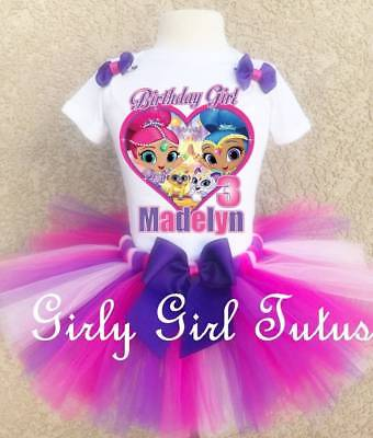 Shimmer and Shine Birthday Outfit for Girls Party Dress Set](Outfit For Party)