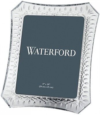 """WATERFORD CRYSTAL LISMORE PICTURE FRAME 8 x 10"""" - BRAND NEW/GIFT BOXED"""
