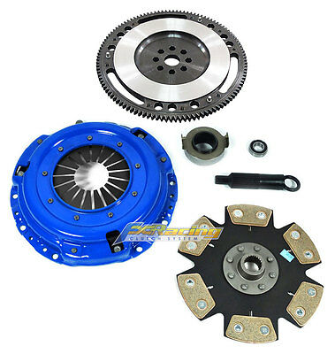 FX STAGE 4 CLUTCH KIT  10 LBS FLYWHEEL for ALL B SERIES MOTORS INTEGRA CIVIC Si