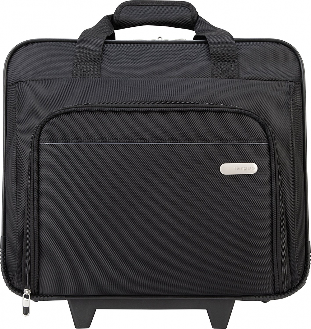 Targus Metro Rolling Case For 16-inch Laptop, Black (Tbr003us) 7
