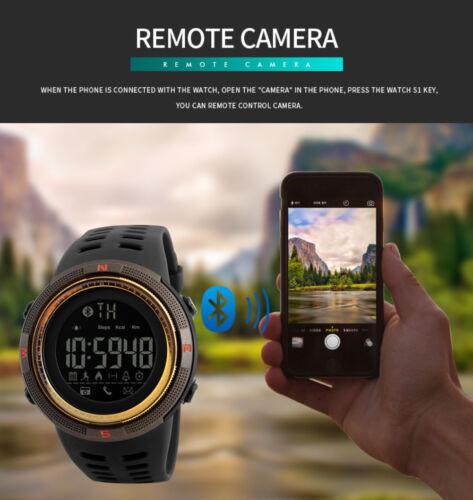 SKMEI Smart Watch Sport Wrist Men Digital Waterproof Pedometer Photography Lot