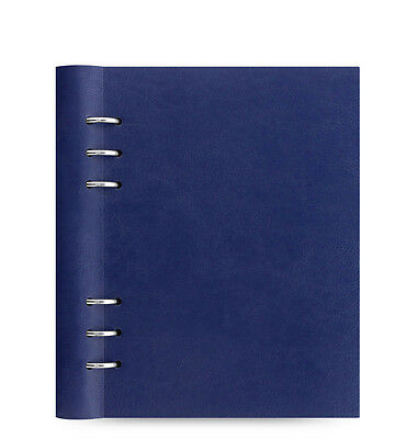 Filofax A5 Clipbook Classic Notebook Organiser Planner Diary Plan Navy- 026018