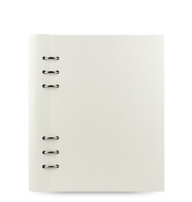 New Filofax A5 Clipbook Classic Notebook Organiser Planner Diary White -023610