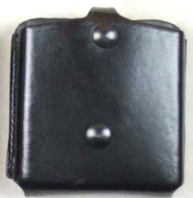 Bianchi Doppel-Magazintasche Leder offen (Polizei und Security)
