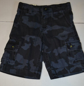 Arizona  Boys Blue or Green Cargo Shorts Various Sizes from  Reg 6-20  NWT