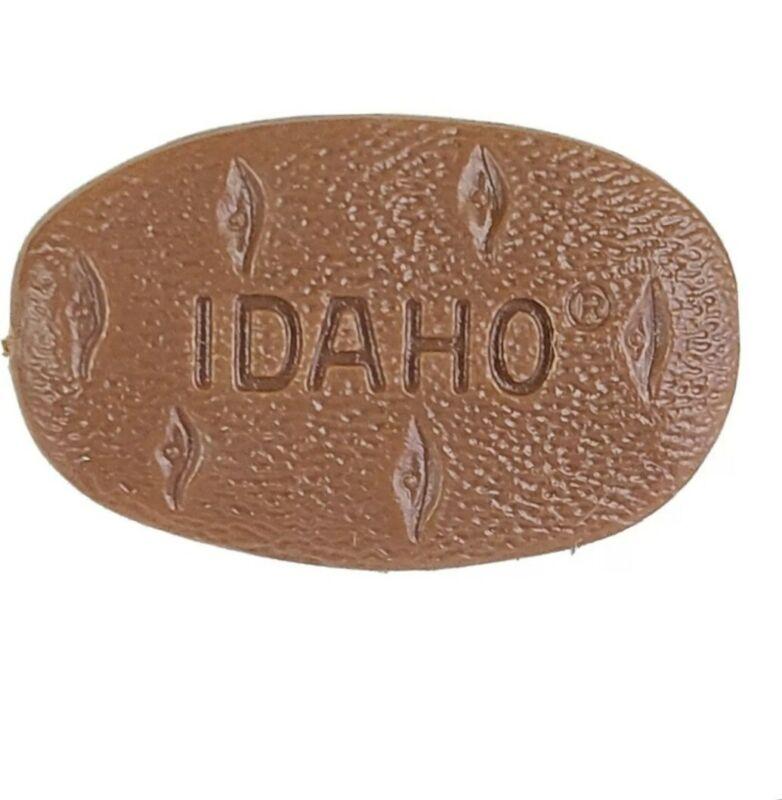 Vintage Idaho Spud Potato Lapel Pin Tie Tack Hat Pin