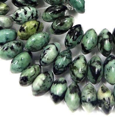 "8x5mm Spring Rain Jasper Abacus Rondelle Beads 15.5"""