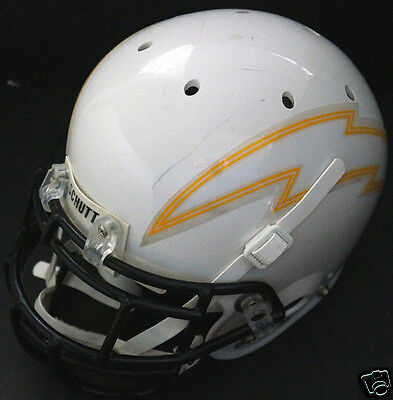 Schutt Air Football Helmet Lightning Bolt Sticker Mask+ Bladder Liner (Air Bladder Helmet)
