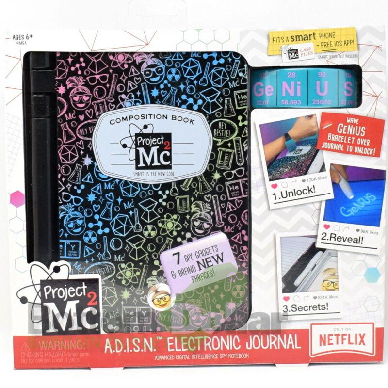 Project Mc2 A.D.I.S.N. 7 Spy Gadgets Electronic Purple Journal