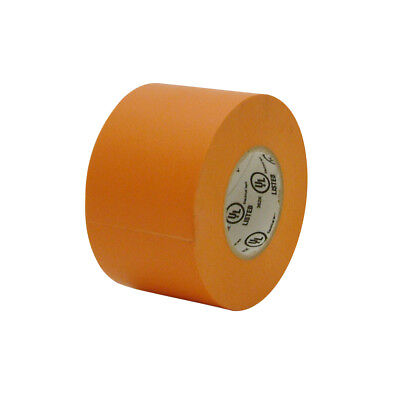 Jvcc E-tape Colored Electrical Tape 2 In. X 66 Ft. Orange