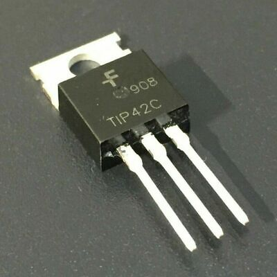 10pcs Tip42c 6a Pnp Complementary Power Transistors To-220 Usa Fast Shipping