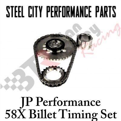 Billet Timing Chain Set - JP Performance Single Roller Billet LS2/LS3/LS7 4 Pole 58X Iwis Timing Chain Set