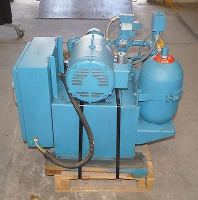 Vickers Double A Model T-20-p H5-p-10b1 Hydraulic Pumping System 7.5 Hp