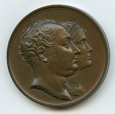 Commemorative RARE medal: Visit of King & Queen of Bavaria to Paris Mint, 1810