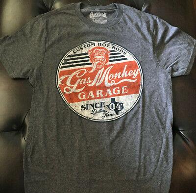 New Gas Monkey Garage men's sizes Gas Monkey shirt mens S-3XL  T-shirt Original