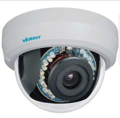 Verint V3320fd-dn 1080p Ip Camera With High Definition Resolution Indoor...