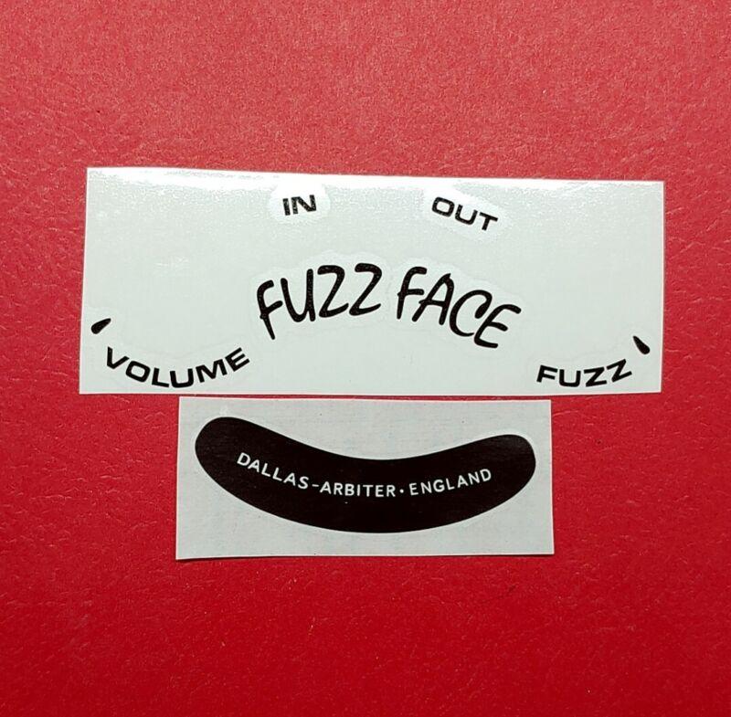 Fuzz Face Decal Set Dallas