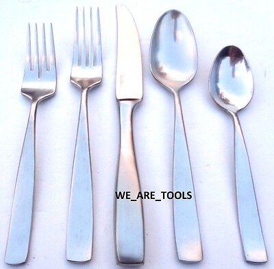 New Yamazaki Bolo 5 Piece Place Set Stainless Fork,Spoon,Knife, Fast Ship