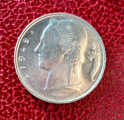 Belgique - Superbe monnaie de 5 francs 1949 Fr