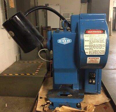 Perkins Junior 3 Ton 1 Stroke Tabletop Industrial Punch Press
