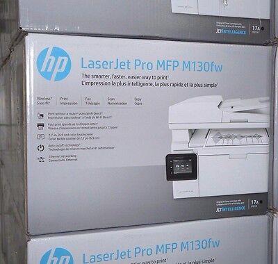 HP LaserJet PRO MFP M130FW All-In-One Wireless Laser Printer Copy Scan Fax