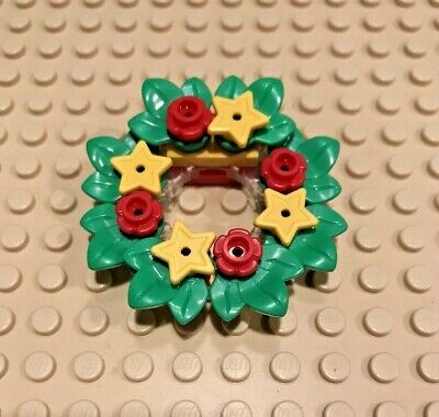 Lego Wreath Christmas Xmas Holiday Advent Calendar Minifigure Santa Claus Set