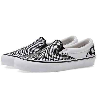 VANS x End Clothing Vertigo Slip On Shoes - Men's Size 11 - New (Checkerboard)