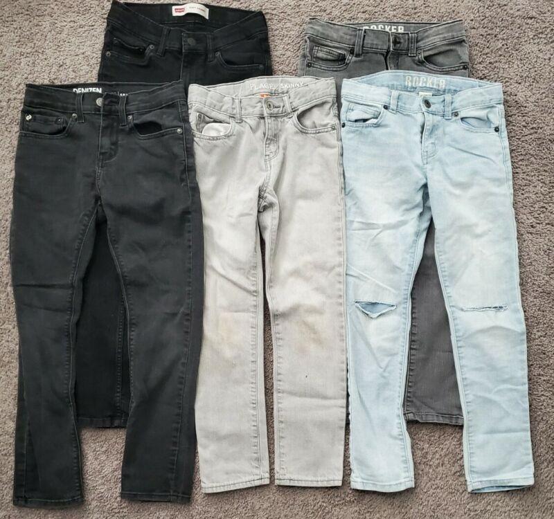 Lot Of Boys Jeans Size 8 & 10 Levi