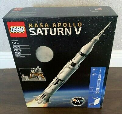 LEGO IDEAS 21309 NASA Apollo Saturn V New & Sealed