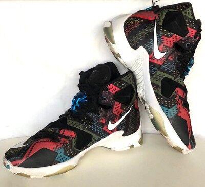 529b42f77d20 Nike 828377-910 Lebron 13 Men s Black History Month Sport Sneaker Size 9  (US)