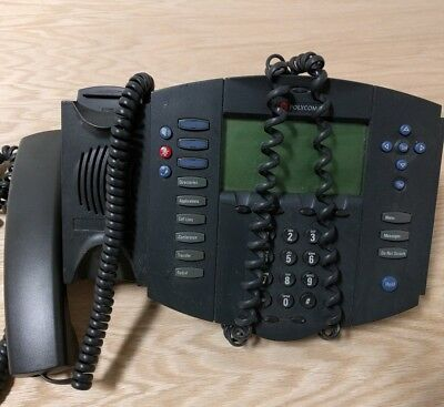 Polycom Soundpoint Ip 501 Sip Phone With Lan Cable