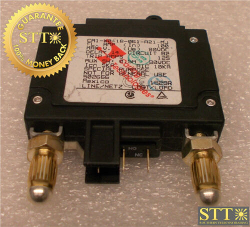 Ca1-x0-18-061-a21-mj Carling 100 Amp Bullet Breaker 80 Vdc 1 Pole