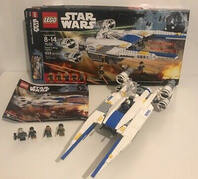 Star Wars LEGO Set 75155! Rebel U-Wing Fighter Super Clean Used Condition