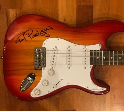 * PAUL RODGERS * signed autographed electric guitar * BAD COMPANY * FREE * 1