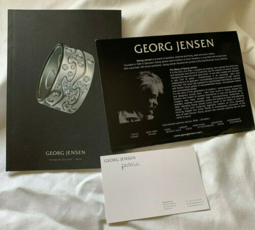 Georg Jensen 2008 2009 Jewellery Collection Jewelry Refined and Organic Designs
