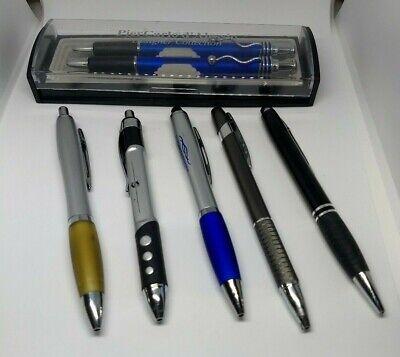 Piercarlo Dalessio Designer Pen Pencil Set 5 Fancy Advertising Pens- Lot Of 7