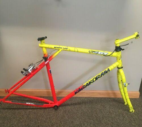 "1992 20"" GT Karakoram Tequila Sunrise Mountain Bike Frameset"