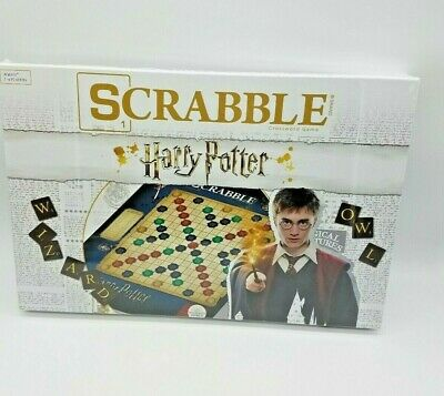 Harry Potter Scrabble Board Game NEW Magical Creatures Word Spelling